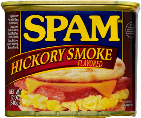 SPAM Hickory Smoked