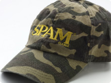 SPAM<sup>&reg;</sup> Classic Camouflaged Cap
