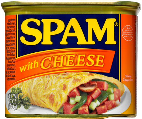 SPAM<sup>&reg;</sup> with Cheese
