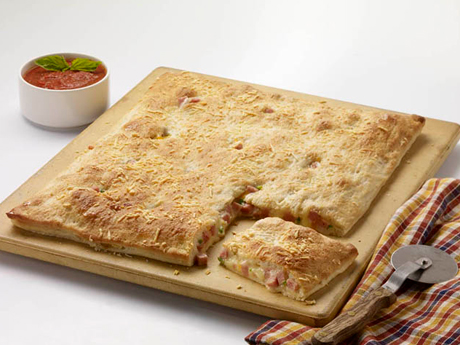 SPAM® and Cheese Calzone