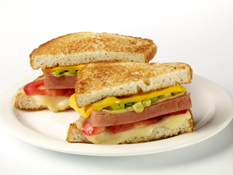 SPAM® Grilled Cheese Heroes