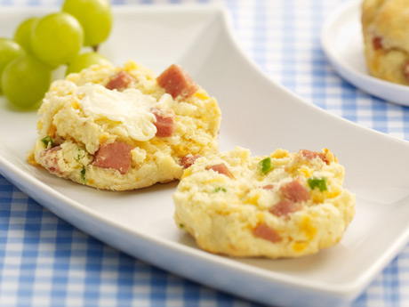 SPAM® Jalapeno Cheddar Biscuits