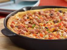 SPAM&#174; Breakfast Pizza