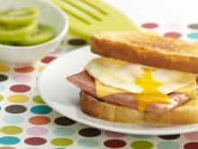 Simple Grilled Cheese and Egg SPAM&#174; Sandwich